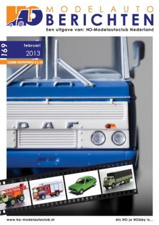 voorkant HO-Modelautoberichten 169