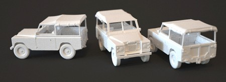 WK 17 Shapeways Land Rover
