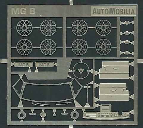 detailleringsset Automobilia voor MG B