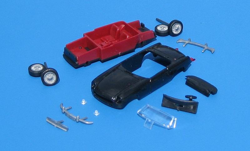 onderdelen MG B van AWM