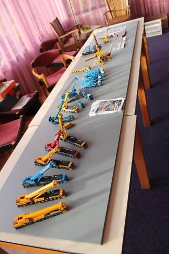 promotie door Ron bij de Modelworkshow Niekerk 31102015