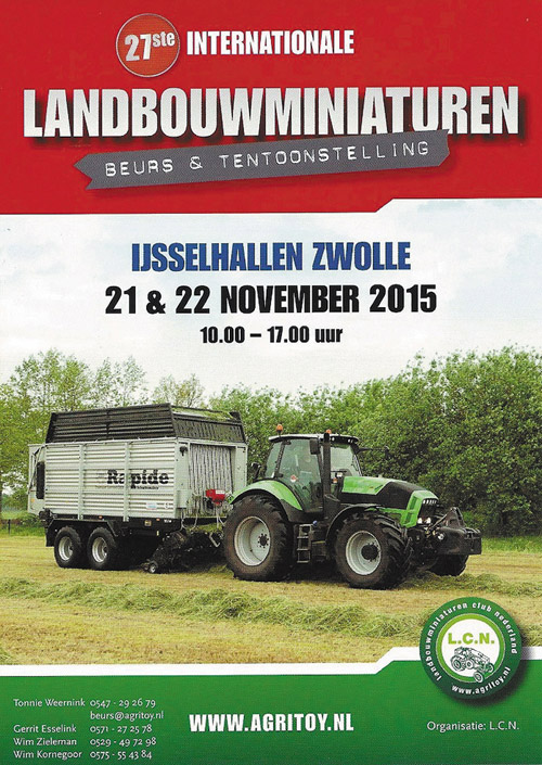 WK 47 13 Beursposter LCN Zwolle 2015