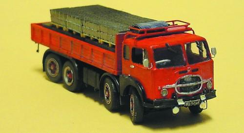 Brekina camiones fiat millepiedi pritschenzug sabe de StarLine 58412