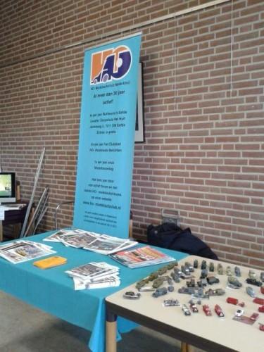 promotie door Fokko van Calker en Jeroen van der Ven op contactdag VBB 12-03-2016
