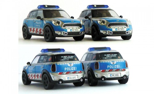 Z-08 Polizeimodelle Mini