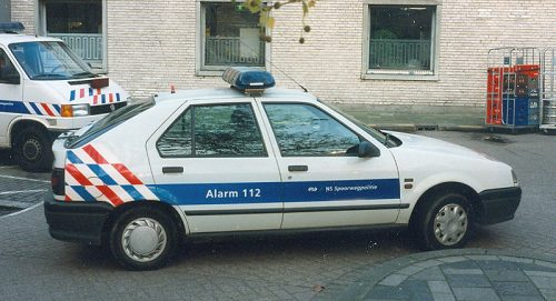 Z-Renault Spoorwegpolitie