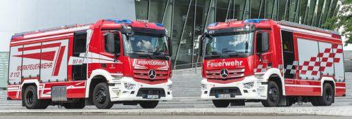 Sechs Richtige für die Werkfeuerwehren von Mercedes-Benz