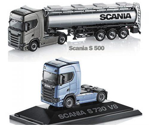 Z-Herpa Scania S in 1-87